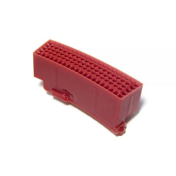 Replacement GRANBOARD SEGMENT DOUBLE 2PCS Red for Gran Board 3 and Gran Board 3S dartboard.