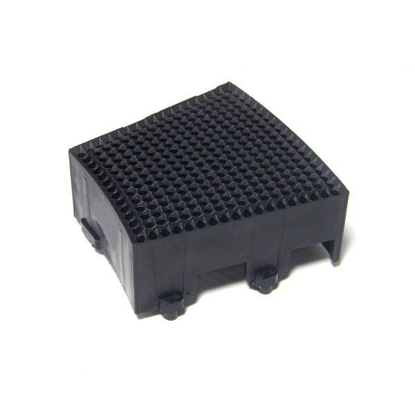 Replacement GRANBOARD SEGMENT SINGLE SQUARE 2PCS Black for Gran Board 3 and Gran Board 3s dartboard.