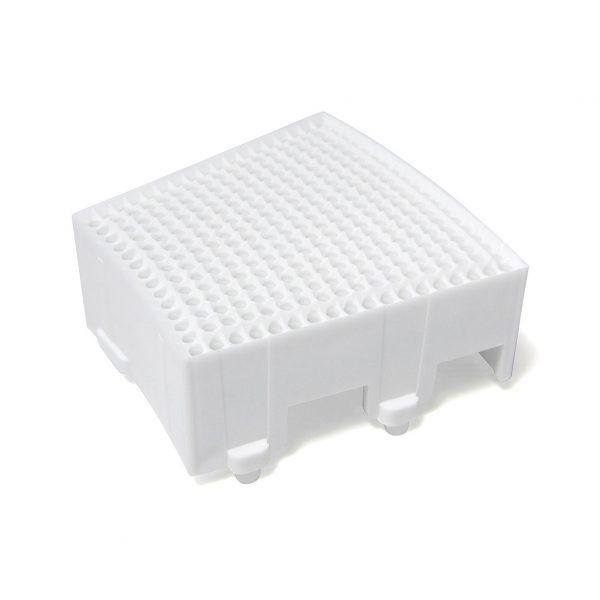 GRANBOARD SEGMENT SINGLE SQUARE 2PCS White